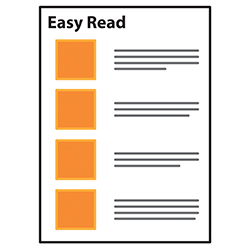 An easy read document